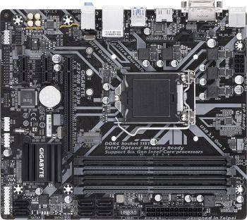 Материнская плата Gigabyte Z370M DS3H Soc-1151v2 mATX