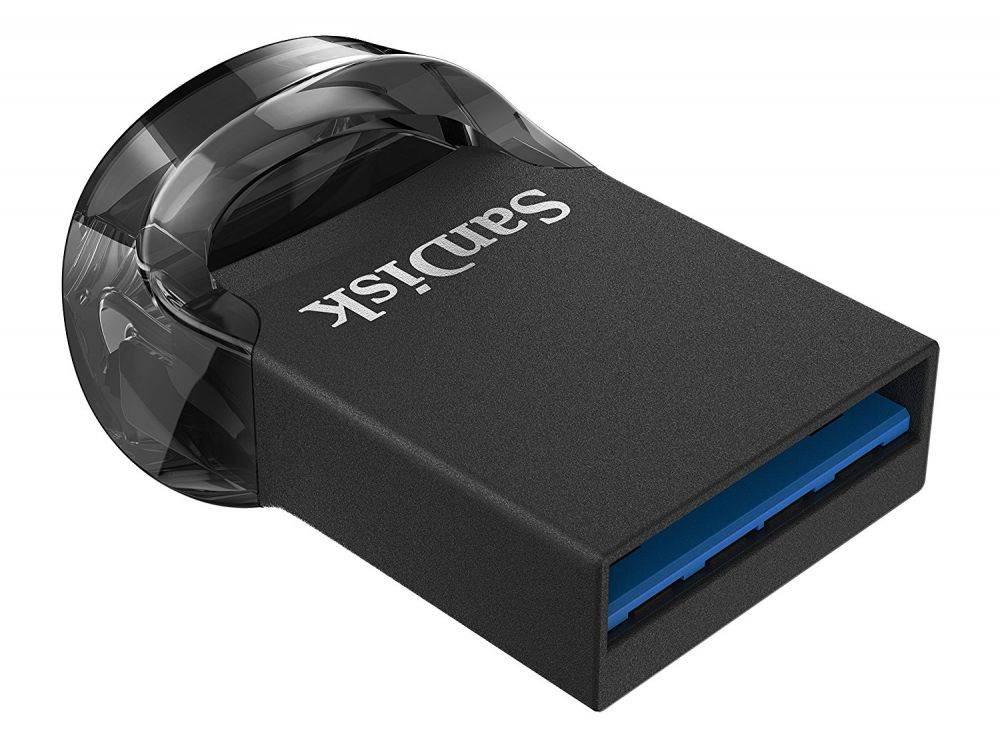 Флешка Sandisk ULTRA FIT 64ГБ USB3.1 черный (SDCZ430-064G-G46) - фото 4