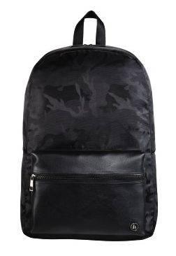 """Рюкзак для ноутбука 15.6"""" Hama Mission Camo черный/камуфляж (00101599) - фото 1"""