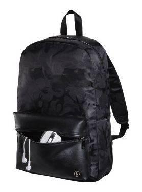 """Рюкзак для ноутбука 15.6"""" Hama Mission Camo черный/камуфляж (00101599) - фото 2"""