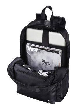 """Рюкзак для ноутбука 15.6"""" Hama Mission Camo черный/камуфляж (00101599) - фото 3"""