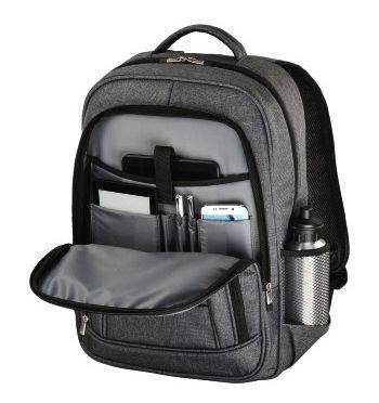 "Рюкзак для ноутбука 15.6"" Hama Business серый (00101578) - фото 2"