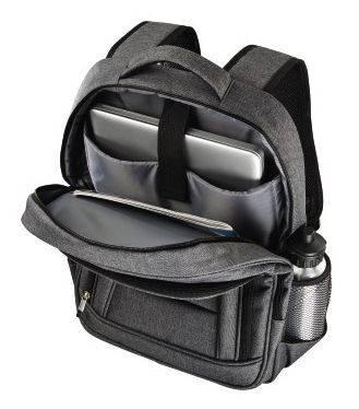 "Рюкзак для ноутбука 15.6"" Hama Business серый (00101578) - фото 3"