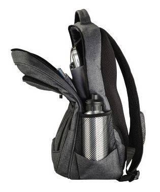 "Рюкзак для ноутбука 15.6"" Hama Business серый (00101578) - фото 4"