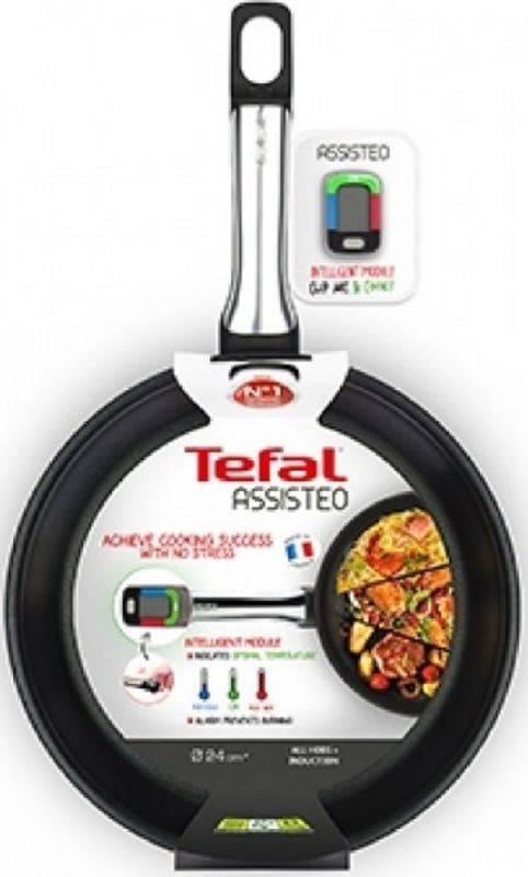 Сковорода Tefal Assisteo E5550412 черный (2100101513) - фото 5