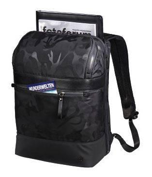"""Рюкзак для ноутбука 15.6"""" Hama Camo Select черный/камуфляж (00101823) - фото 2"""