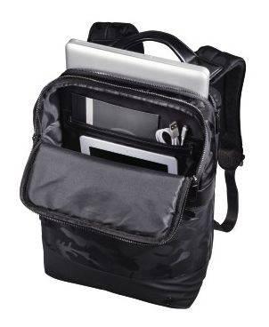 """Рюкзак для ноутбука 15.6"""" Hama Camo Select черный/камуфляж (00101823) - фото 3"""
