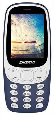 Мобильный телефон Digma Linx N331 2G темно-синий (LT1042PM)