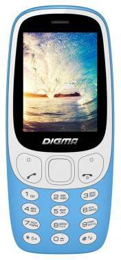 Мобильный телефон Digma Linx N331 2G голубой (LT1042PM)
