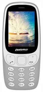 Мобильный телефон Digma Linx N331 2G серый (LT1042PM)