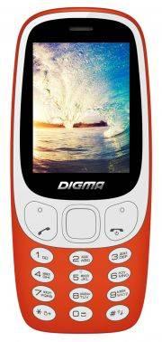 Мобильный телефон Digma Linx N331 2G красный (LT1042PM)