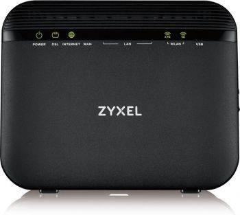 Маршрутизатор беспроводной Zyxel VMG3625-T20A черный (VMG3625-T20A-EU01V1F)