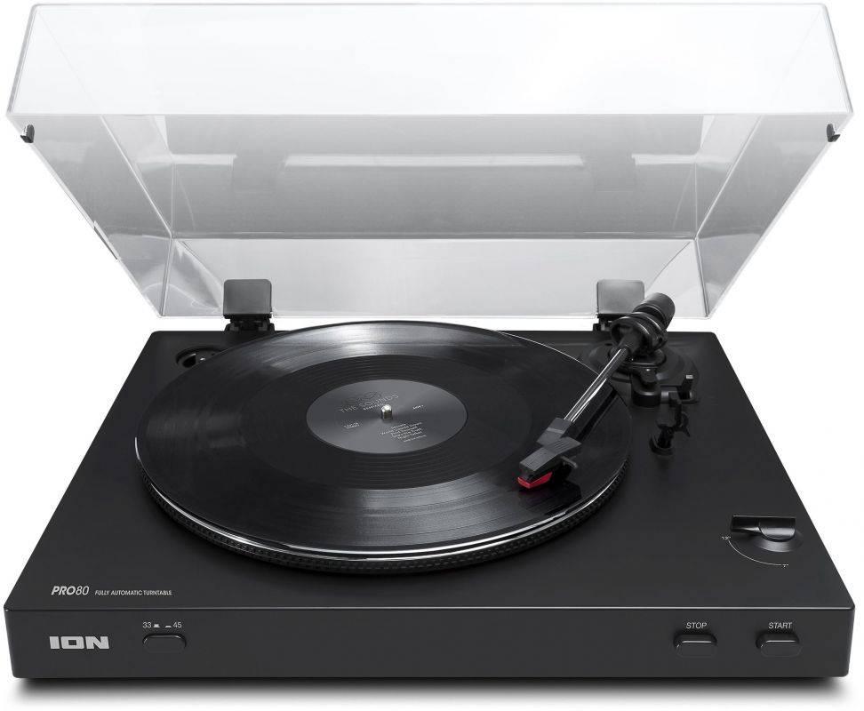 Виниловый проигрыватель ION Audio PRO 80 черный - фото 1