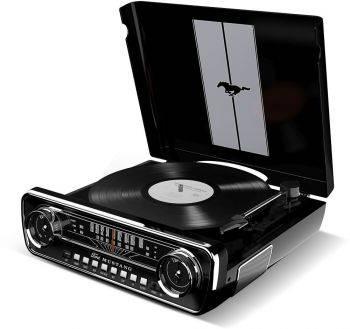 Виниловый проигрыватель ION Audio Mustang LP черный (MUSTANG LP BK)
