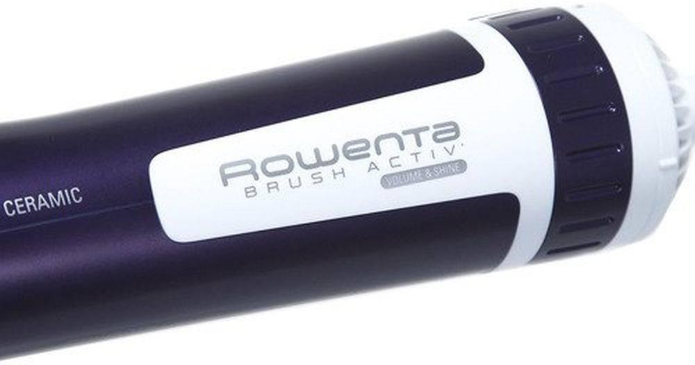 Фен-щетка Rowenta CF9530F0 фиолетовый - фото 4