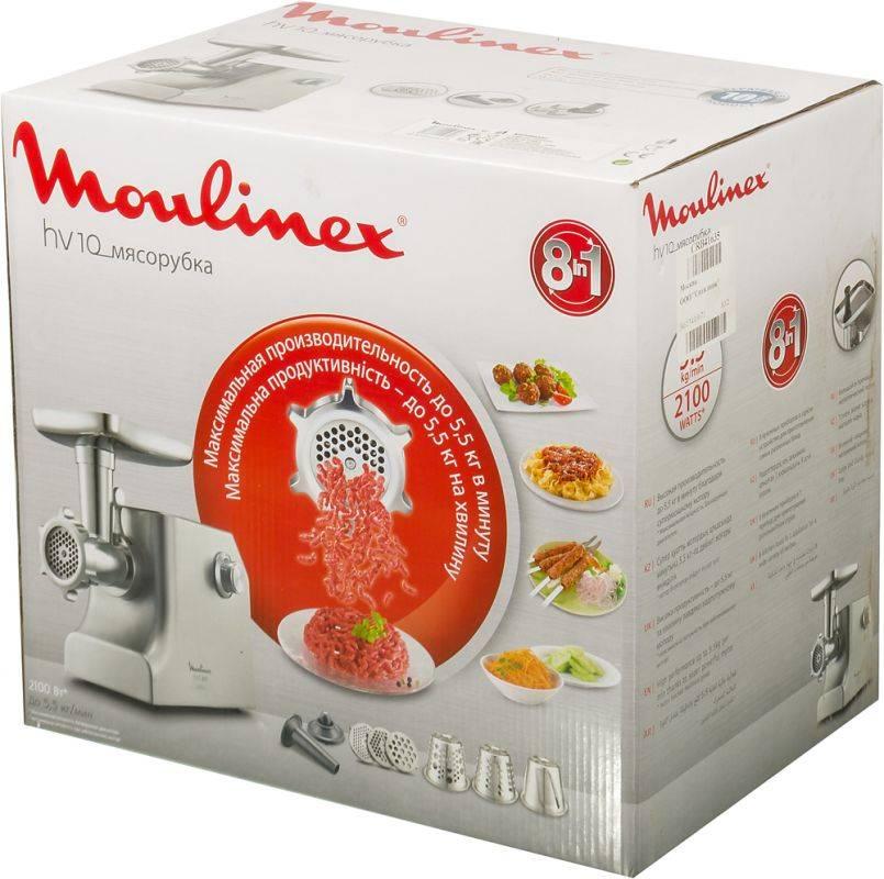 Мясорубка Moulinex ME858D32 серебристый (8010000034) - фото 10