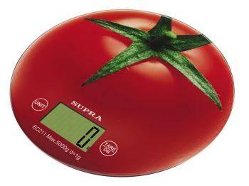 Кухонные весы Supra BSS-4300 tomato рисунок (11430)