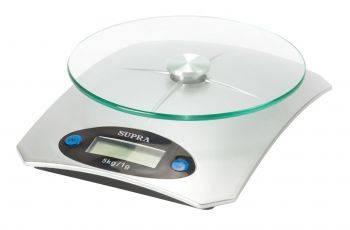 Кухонные весы Supra BSS-4041 серебристый (11631)