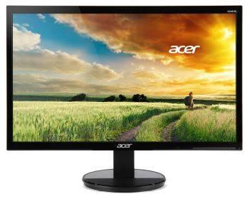 """Монитор 23.6"""" Acer K242HQLBbd черный (UM.UX6EE.B01)"""