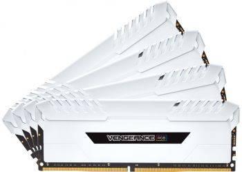 Модуль памяти DIMM DDR4 4x8Gb Corsair (CMR32GX4M4C3200C16W)