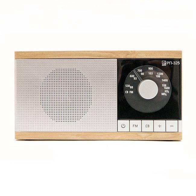 Радиоприемник Сигнал БЗРП РП-325 коричневый/серебристый (19342) - фото 1