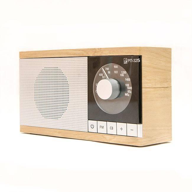 Радиоприемник Сигнал БЗРП РП-325 коричневый/серебристый (19342) - фото 2