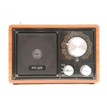 Радиоприемник Сигнал БЗРП РП-329 коричневый/черный (19346)