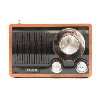 Радиоприемник Сигнал БЗРП РП-330 орех/черный (19348)