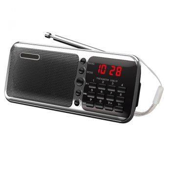 Радиоприемник Сигнал РП-226 черный/серебристый (17828)