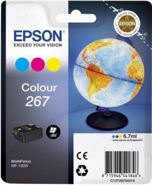 Картридж Epson T267 3цв. (C13T26704010)