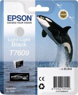 Картридж Epson T7609 серый (c13t76094010)