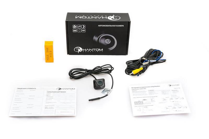 Камера заднего вида Phantom CA-2301N (2101037) - фото 5