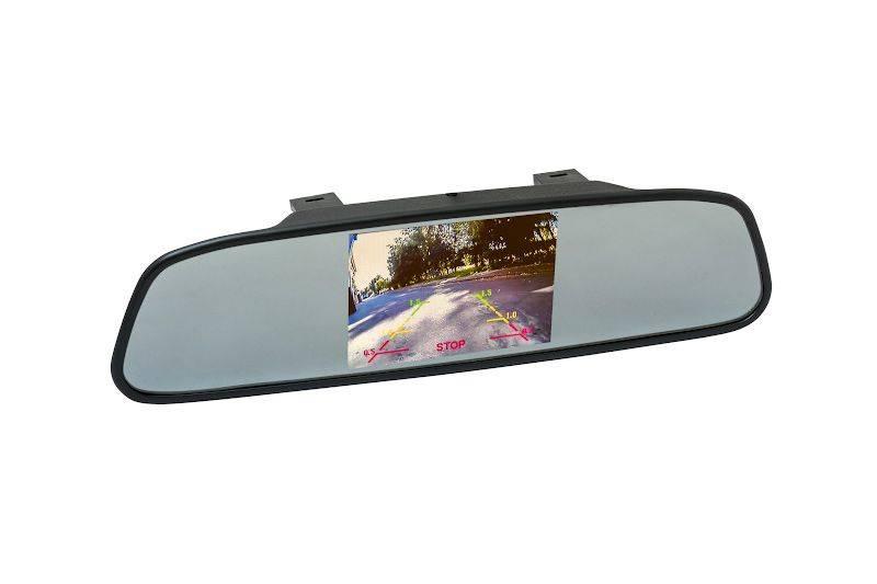 Зеркало заднего вида с монитором Phantom RM-43 (2101057) - фото 1