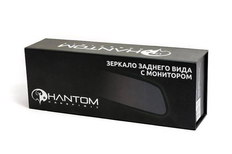 Зеркало заднего вида с монитором Phantom RM-43 (2101057) - фото 3