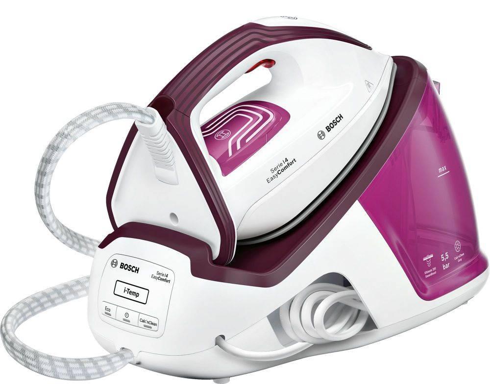 Паровая станция Bosch TDS4020 розовый/фиолетовый - фото 1