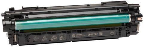 Картридж HP 657X желтый (CF472X) - фото 1