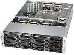 Корпус SuperMicro CSE-836BE1C-R1K23B 2 x 1200 Вт черный (CSE-836BE1C-R1K23B) - фото 1