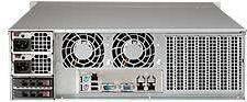 Корпус SuperMicro CSE-836BE1C-R1K23B 2 x 1200 Вт черный (CSE-836BE1C-R1K23B) - фото 2