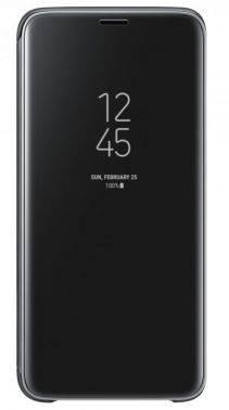 Чехол Samsung Clear View Standing Cover, для Samsung Galaxy S9, черный (EF-ZG960CBEGRU)