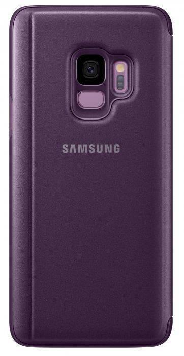 Чехол Samsung Clear View Standing Cover, для Samsung Galaxy S9, фиолетовый (EF-ZG960CVEGRU) - фото 2