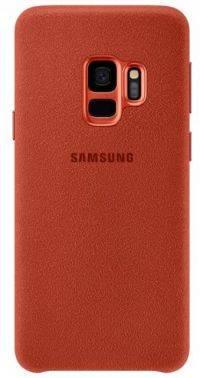 Чехол Samsung Alcantara, для Samsung Galaxy S9, красный (EF-XG960AREGRU)