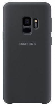 Чехол Samsung Silicone Cover, для Samsung Galaxy S9, черный (EF-PG960TBEGRU)