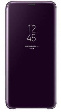 Чехол Samsung Clear View Standing, для Samsung Galaxy S9+, фиолетовый (EF-ZG965CVEGRU)