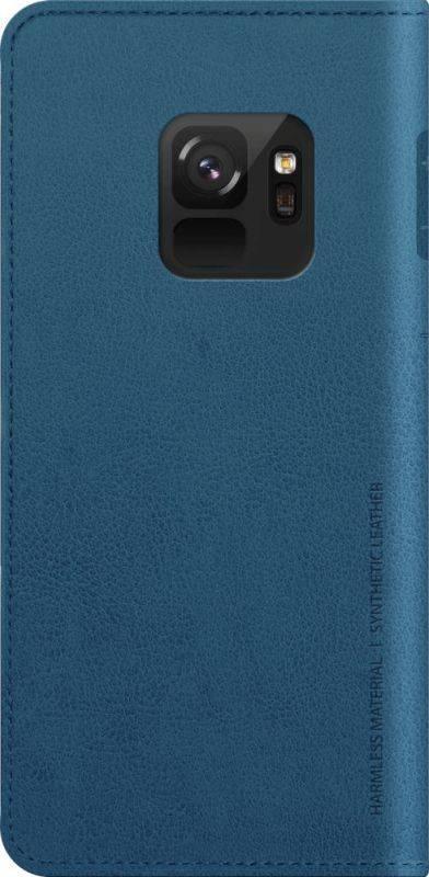 Чехол Samsung KDLAB Inc Mustang Diary, для Samsung Galaxy S9, синий (GP-G960KDCFAIC) - фото 1