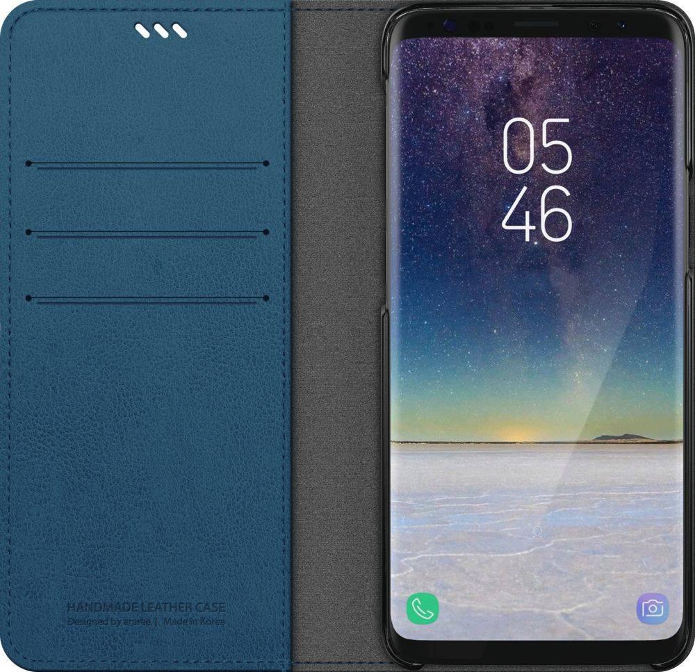 Чехол Samsung KDLAB Inc Mustang Diary, для Samsung Galaxy S9, синий (GP-G960KDCFAIC) - фото 3