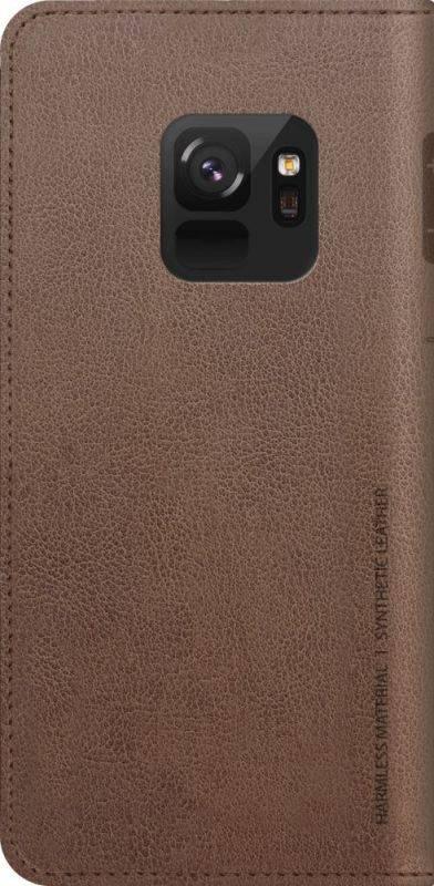 Чехол Samsung KDLAB Inc Mustang Diary, для Samsung Galaxy S9, коричневый (GP-G960KDCFAID) - фото 2