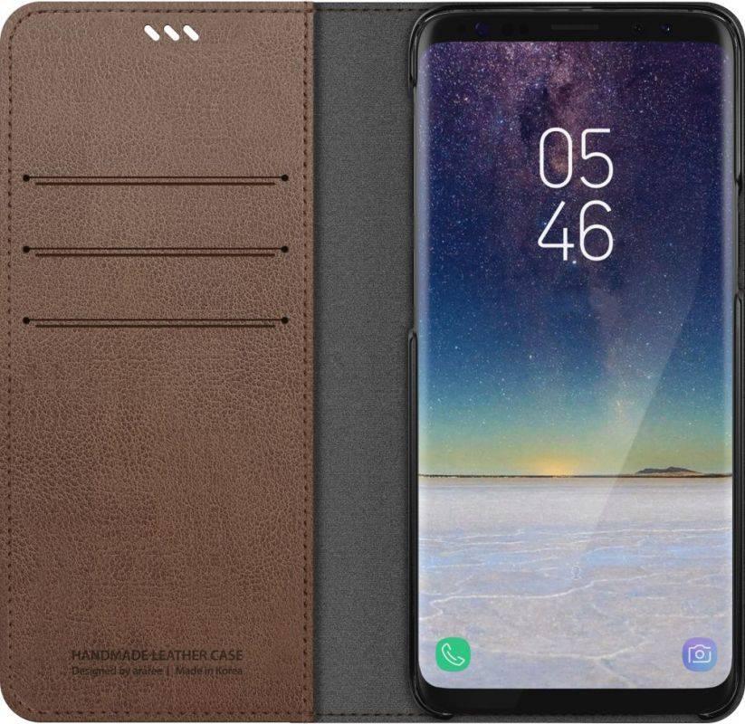 Чехол Samsung KDLAB Inc Mustang Diary, для Samsung Galaxy S9, коричневый (GP-G960KDCFAID) - фото 3