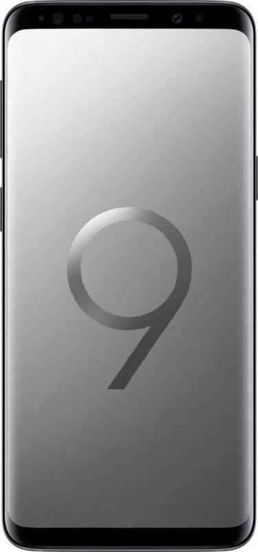 Смартфон Samsung Galaxy S9 SM-G960F 64ГБ титан - фото 1
