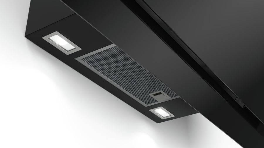 Каминная вытяжка Bosch Serie 6 DWK97JM60 черный - фото 4