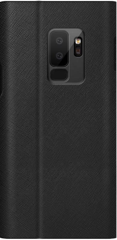 Чехол Samsung Bonnet stand, для Samsung Galaxy S9+, черный (GP-G965KDCFBIA) - фото 1